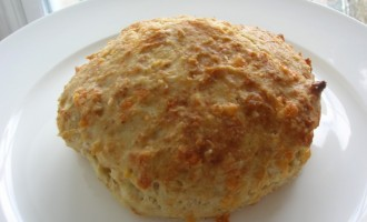 Greek yogurt cheese scones.