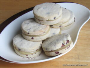 Tea Cream Sandwich Biscuits - one of 19 tea and chocolate recipes for #WeShouldCocoa.