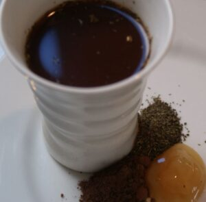 Chocolate Honey Tea - one of 19 tea and chocolate recipes for #WeShouldCocoa.