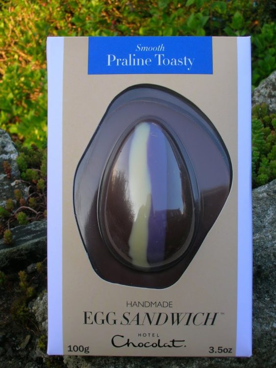 Hotel Chocolat Praline Toasty Egg Sandwich
