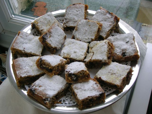 Chilli Chocolate Mincemeat Slice