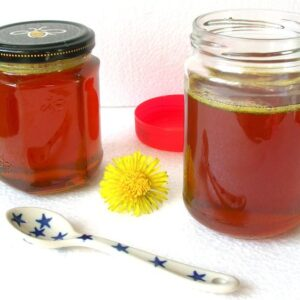 How to Make Dandelion Honey
