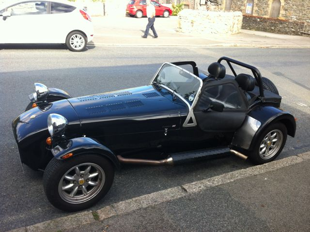 Caterham Car - Perfect for the Glynn Valley Road Trip
