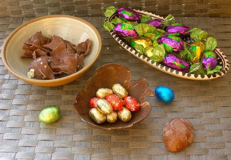 Leftover Easter Eggs and Chocolate