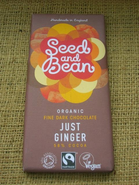 Seed and Bean Just Ginger Chocolate Bar