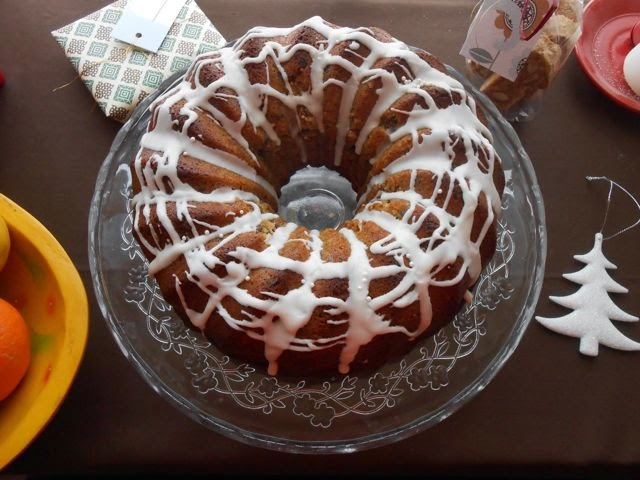 Fig Mincemeat Christmas Bundt Cake