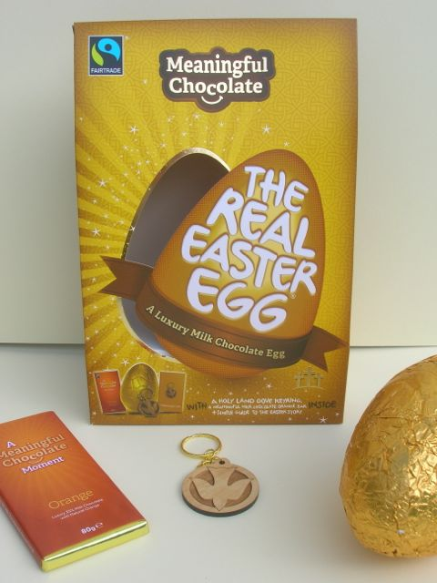 Meaningful Chocolate Easter Egg