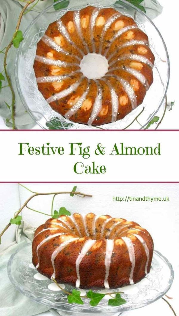 Fig Almond Cake with Whisky.