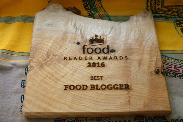 Food Awards Best Blogger