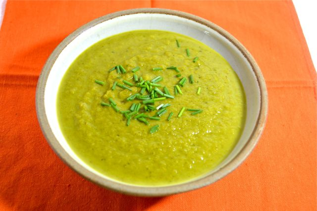 Parsnip Spinach Soup
