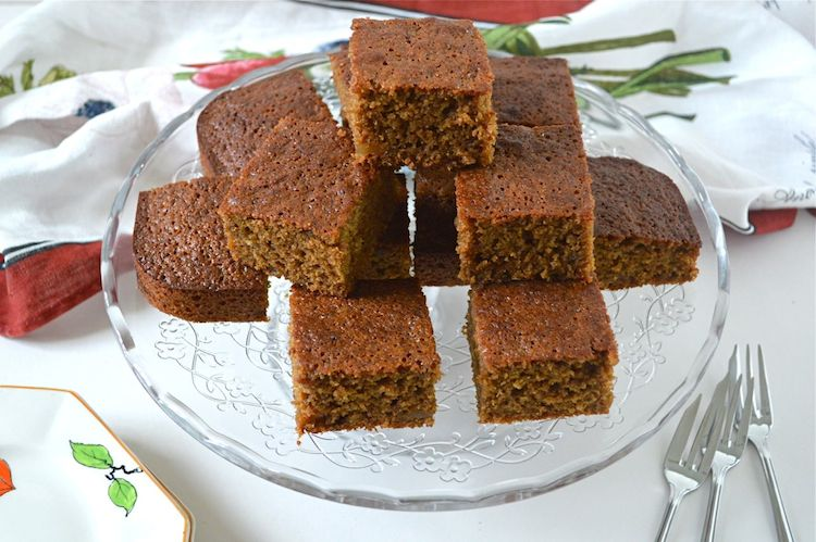 Banana Ginger Cake