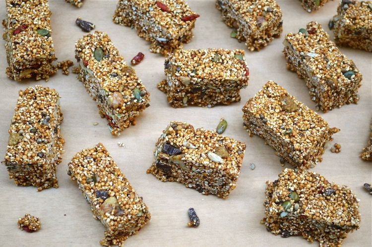 Malted Superfood Bars