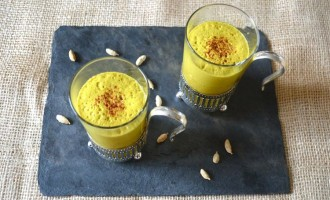 Spiced Turmeric Milk
