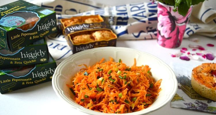 Orange Ginger Carrot Salad