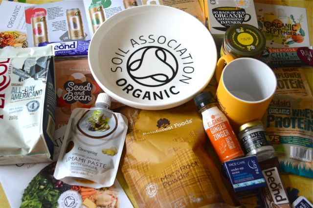Organic September Soil Association Products