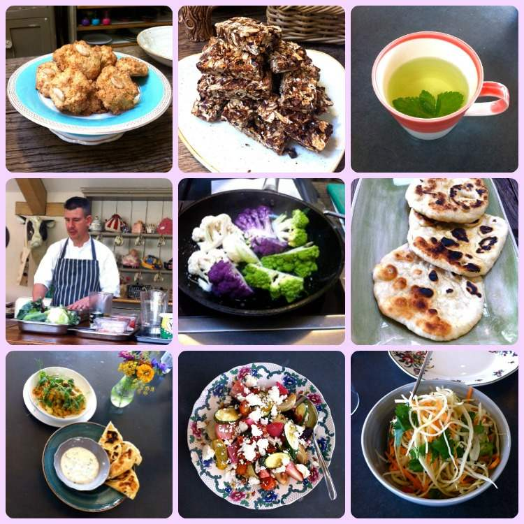 Yeo Valley Food Collage