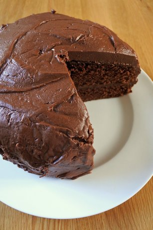 Simple Family Chocolate Cake