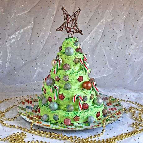 Chocolate Mint Christmas Tree