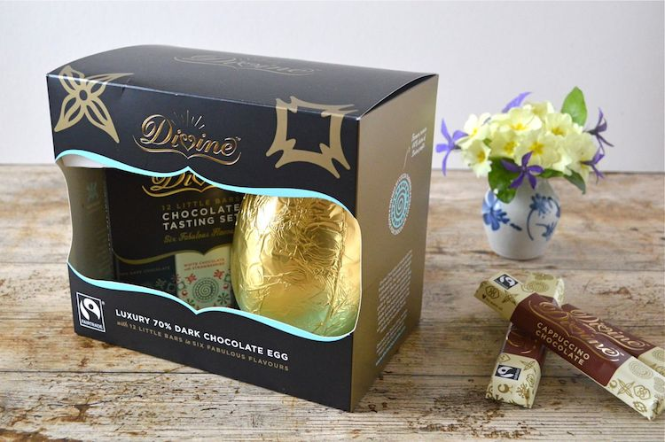 Divine Chocolate Easter Egg
