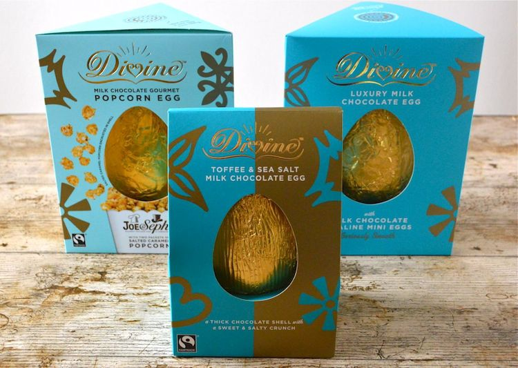 Divine Chocolate Easter Eggs