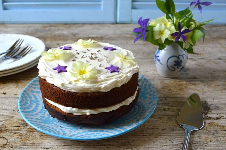 Lavender Honey Cake