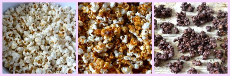 Chocolate Salted Caramel Popcorn