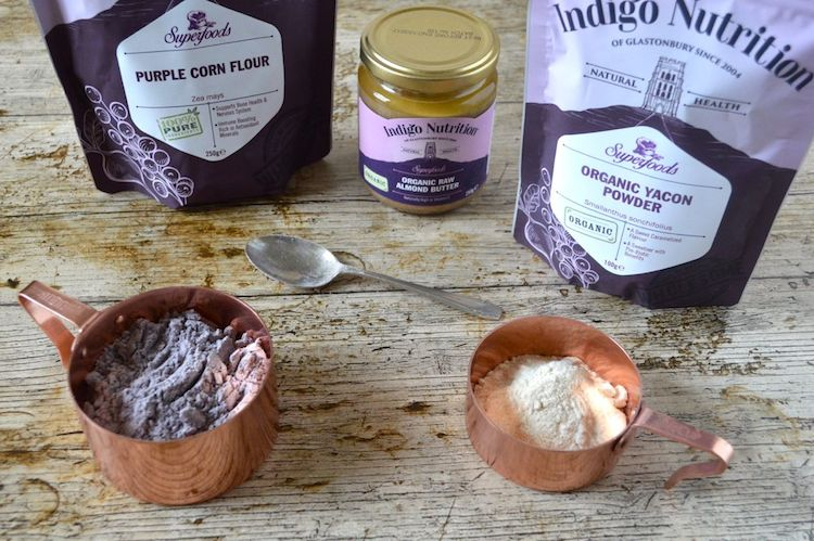 Yacon Powder & Purple Corn Flour