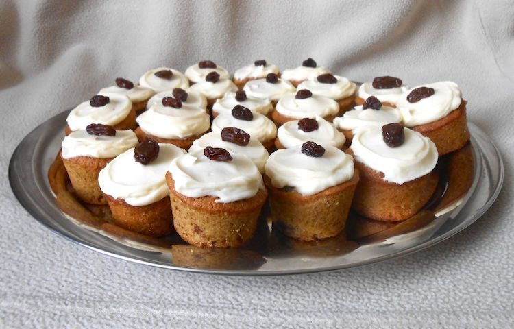 Rum and Raisin Cupcakes