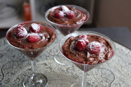 Chestnut Chocolate Pots