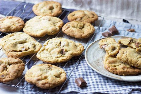 Soft Bake Cookies with Chocolate Chunks