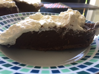 American Midwest Chocolate Cream Pie