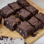 Triple Chocolate Almond Brownies - Naturally Gluten-Free