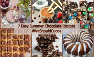 7 Easy Summer Chocolate Recipes