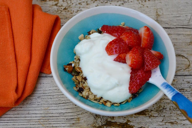 Easy Vegan Honey Almond Granola