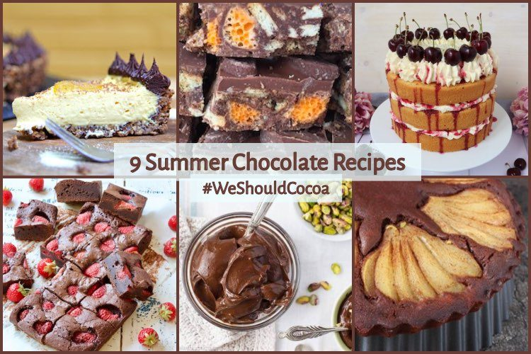 9 Summer Chocolate Recipes