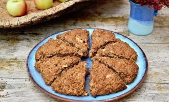 Apple Cider Scones with Cinnamon
