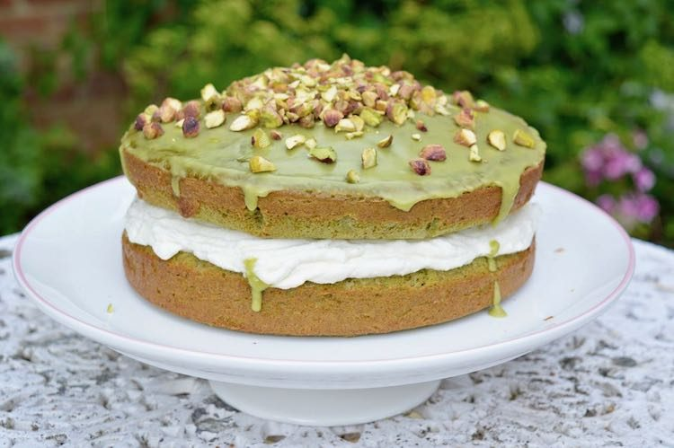 Spinach Cake with Lemon aka Green Cake aka Le Gâteau Vert
