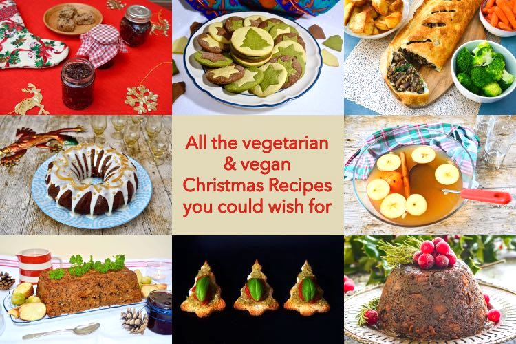Vegetarian and Vegan Christmas Recipes - An All-Out Festive Feast