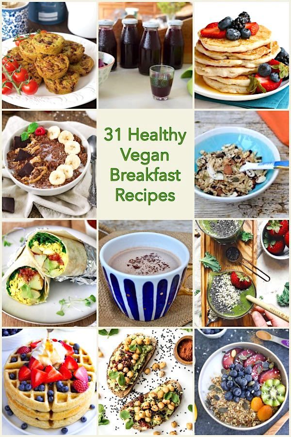 31 Healthy Vegan Breakfast Recipes. If you're just dipping into the world of vegan food, breakfast can be a bit of a challenge. Here you'll find lots of easy, healthy and delicious vegan breakfasts to help you on your way. Many of them are gluten-free too. #TinandThyme #VeganRecipes #Veganuary #VeganBreakfast #recipes #breakfast #vegan #dairyfree #glutenfree