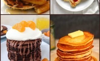 4 Fluffy Pancake Recipes & #CookBlogShare Week 8
