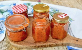 Five Jars of Easy Carrot Jam - Moraba-ye Havij