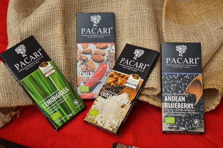 Pacari Andean Chocolate Bars