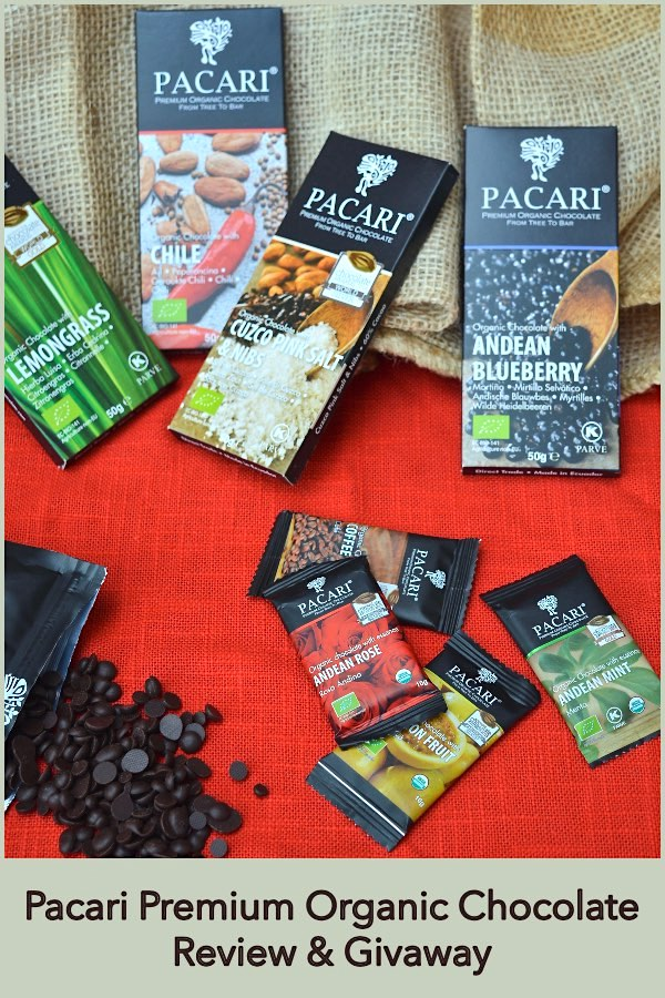 Pacari Premium Organic Chocolate Review & Giveaway.