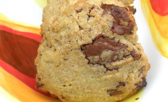 Chocolate Brazil Nut Cookies