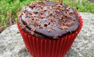 Dark Chocolate Chilli Cupcakes