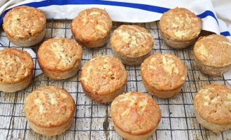 Savoury Cheese Muffins with Apple.
