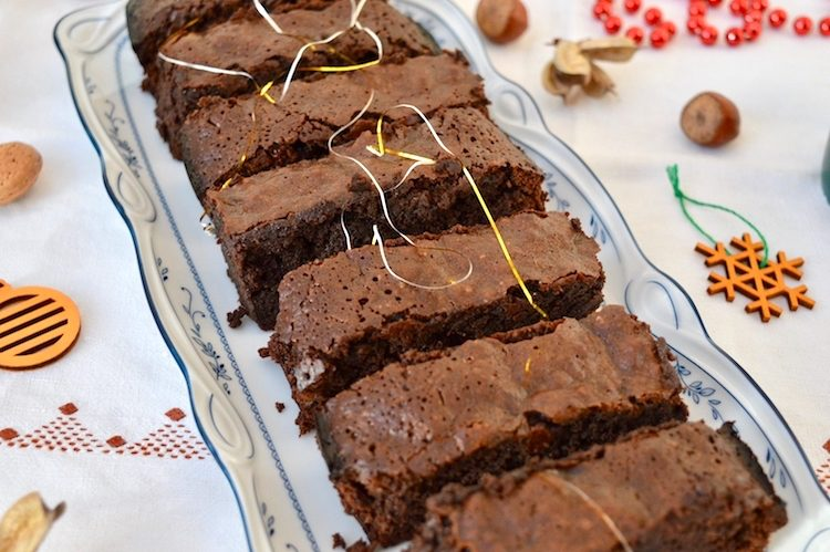 Festive Mincemeat Brownies