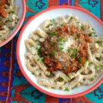 Quick and Easy Pasta with Italian pasta & sauce.